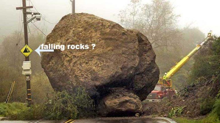 Los 5 vídeos de deslizamientos rocas más impactantes
